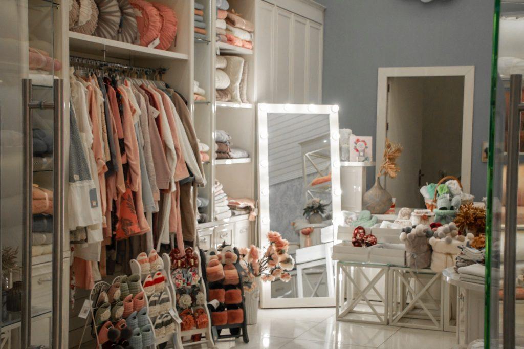 An organized room